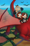 Гравіті Фолз. Діппер, Мейбл і прокляті скарби піратів часу Disney