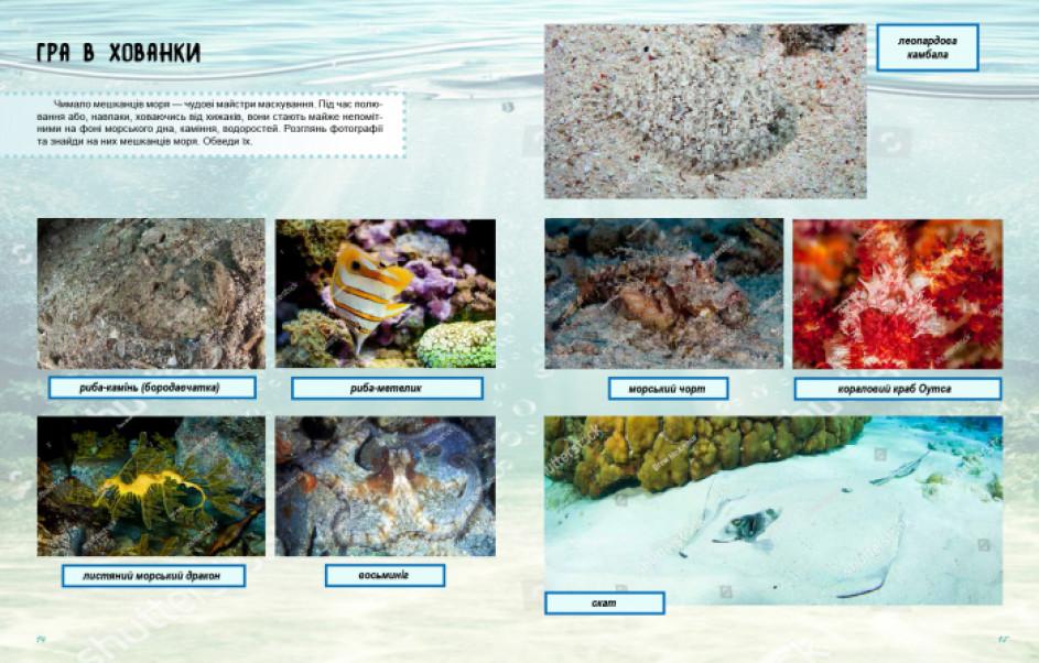 Світ і його таємниці. Життя моря. Зошит
