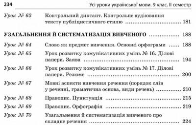 Усі уроки української мови. 9 клас. ІІ семестр. Нова програма