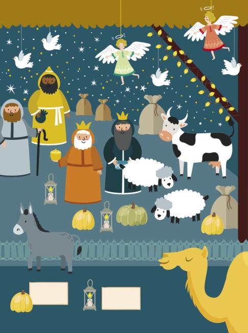 Что скрывает Рождество? Новогодний виммельбух