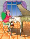 Шкільна бібліотека. Малий музика Моцарт. Казки, байки, вірші