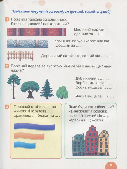 НУШ Математика. 1 клас. Підручник