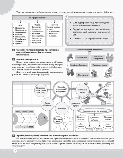 Трудове навчання. Проектна діяльність. Обслуговуючі та технічні види праці. 5–6 класи. Перша частина