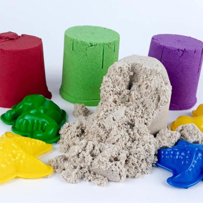 Кінетичний пісок Z sand. 4 штуки