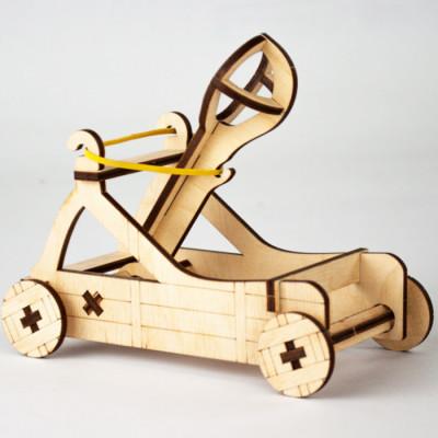 Дерев'яний 3D конструктор «Катапульта»