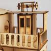 Дерев'яний конструктор «Будиночок з ліфтом»