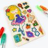 Мобіль для дитячої кімнати. Принцеса.