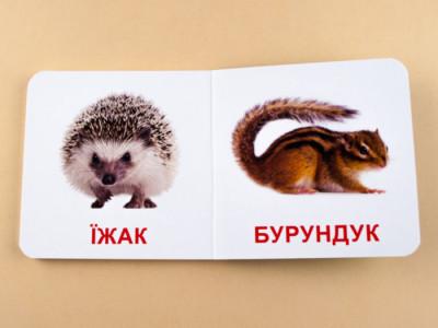 Книжка для найменших. Дикі тварини
