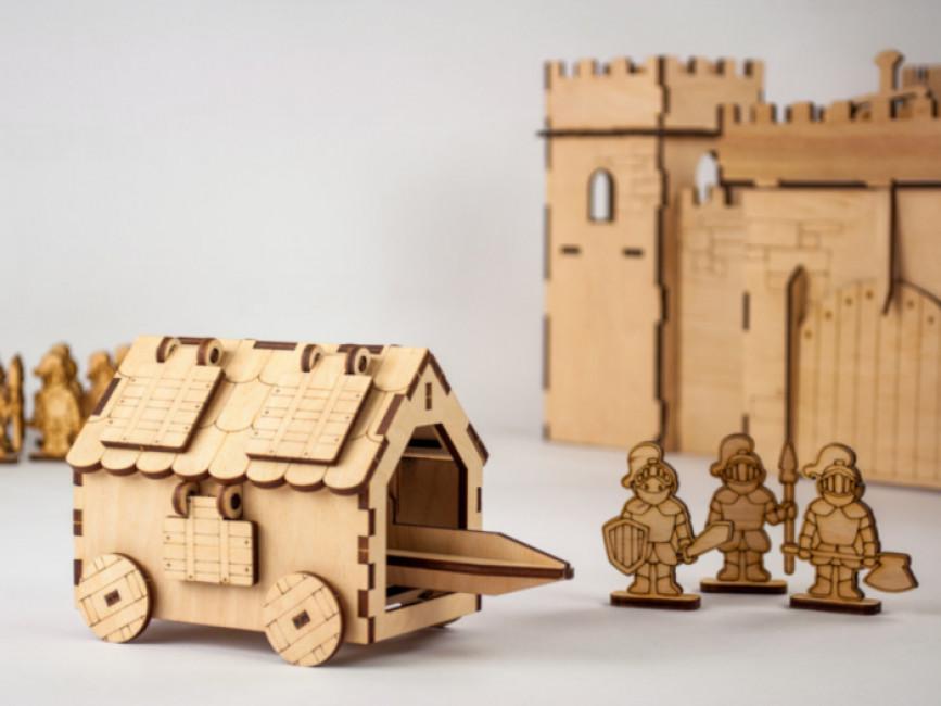 Таран. Дерев'яний 3D конструктор