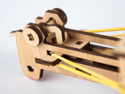 Баліста. Дерев'яний 3D конструктор