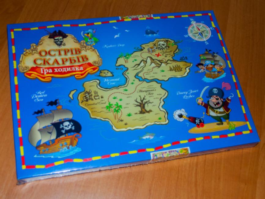 Гра-ходилка 'Острів скарбів'
