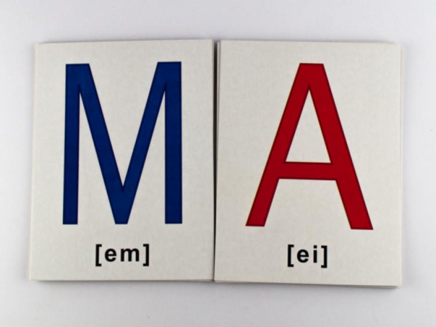 Англійська абетка. Картки А5