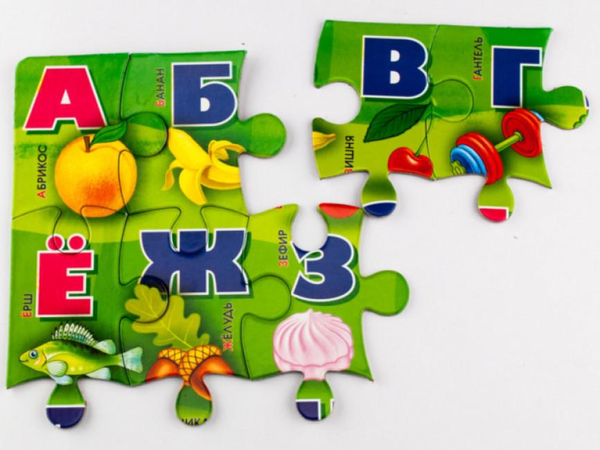 Русская азбука. Пазл
