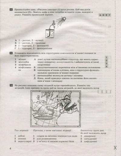 Тестовий контроль результатів навчання. Біологія і Екологія. 11 клас. Профільний рівень + Додаток