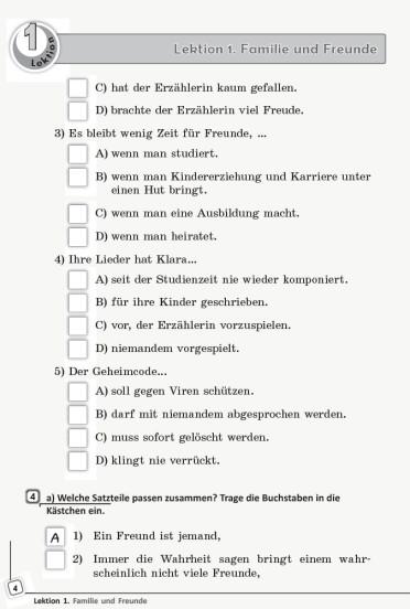 Німецька мова. 11 клас. Книга для читання (до підручника «Німецька мова (11-й рік навчання, рівень стандарту)» для 11 класу ЗЗСО «Deutsch lernen ist super!»)