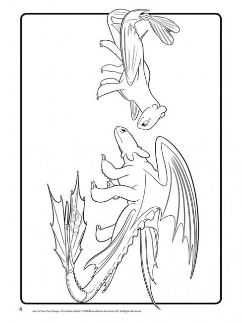 Кольорові пригоди з наліпками. Закладки (Беззубик, Буревійка). Як приборкати дракона 3