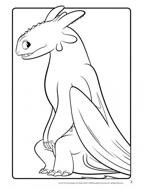 Кольорові пригоди з наліпками. Маска (Беззубик). Як приборкати дракона 3.