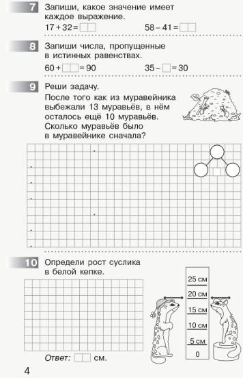 НУШ Математика 2 класс. Мониторинг учебных достижений