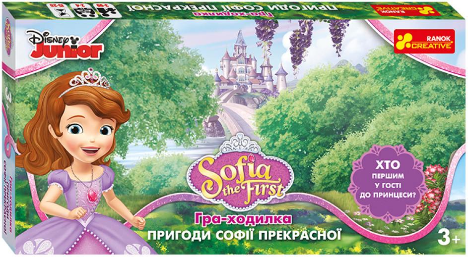 Настільна гра-ходилка. Пригоди Софії Прекрасної. Disney