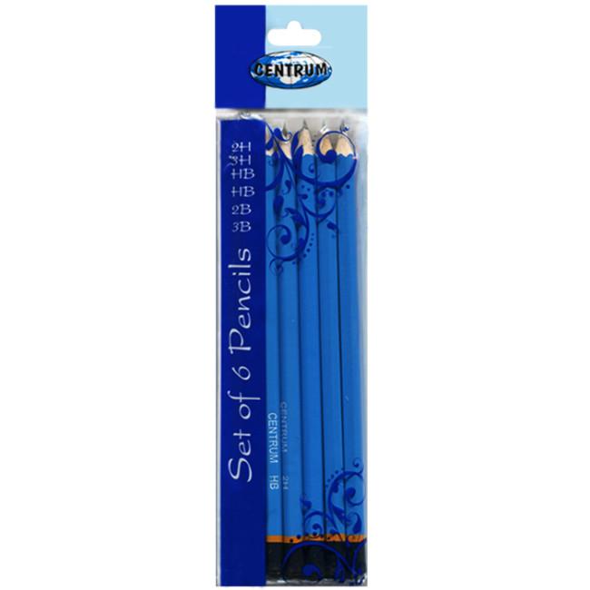 Набор простых карандашей «Centrum» (6штук)