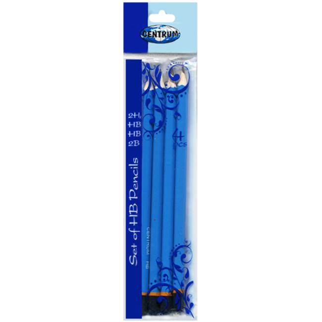 Набор простых карандашей «Centrum» (4штуки)