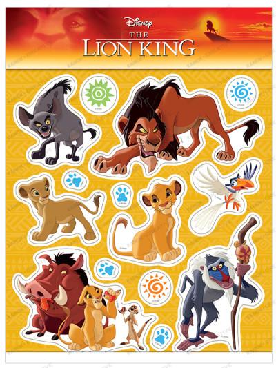 Інтер'єрні наліпки. Король Лев