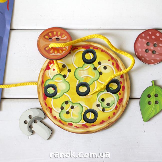 Шнурівочка. Піца-пиріг