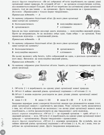 Біологія. Інтерактивнийдовідник-практикум із тестами. Підготовкадо ЗНО