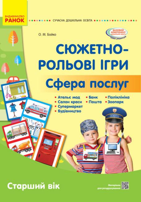 Сучасна дошкільна освіта. Сфера послуг. Наочний матеріал
