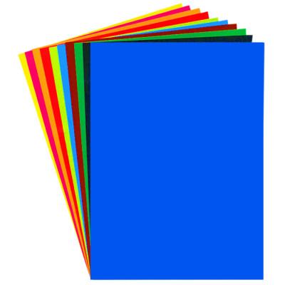Кольоровий папір «PL» 2-х стороній (А4, 14аркушів, 10 кольорів)