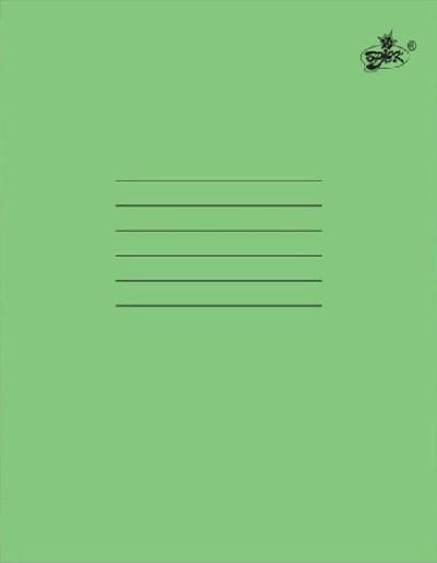 Зошит «Brisk» «Бірюзова» (лінійка, 24 аркуша)