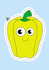 Вирізалки для найменших. Овочі та фрукти