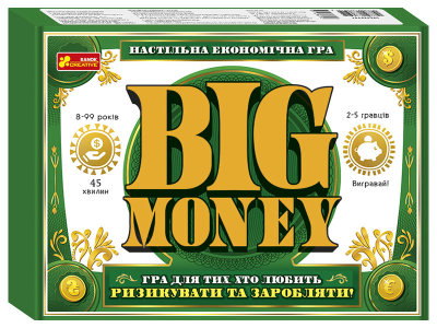 Настільна гра. Big money