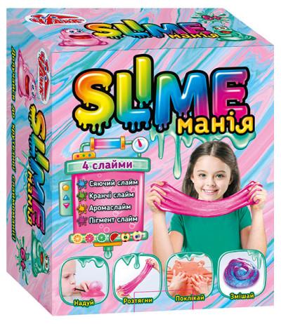 Наукові розваги. Slime манія (дівчатка)