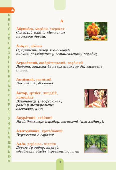 НУШ Ілюстрований словник синонімів, антонімів. 1–4 класи
