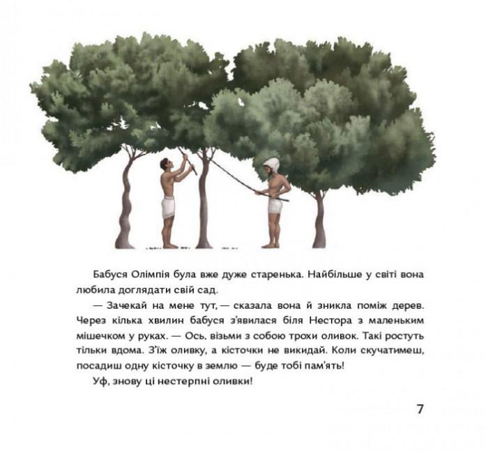 Кісточка оливи