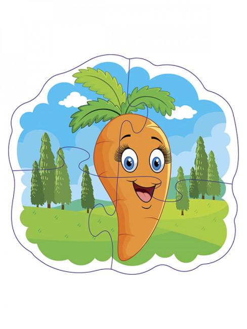 BABY PUZZLE.Овочі та фрукти