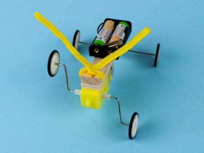 Електромеханічний конструктор. Робот-плазун