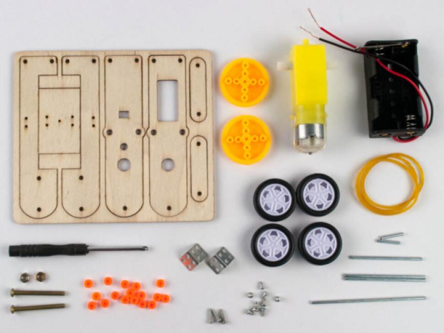 Електромеханічний конструктор. Робот-гусінь