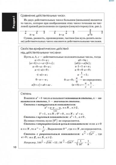 Алгебра в определениях, формулах и таблицах (для учащихся 7—11 классов и абитуриентов)