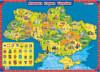 Плакат 'Дитяча карта України'