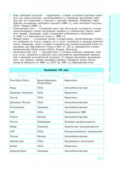 Спасатель. Социально-экономическая география мира в определениях, таблицах и схемах. 10-11 классы
